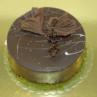 Sade Çikolatalı Pasta