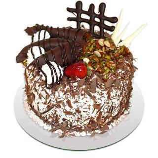 Karışık Çikolatalı Pasta